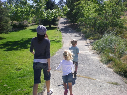 Mother and Children Trail Walk