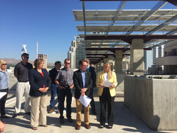 City Council Renewable Energy Press Conference