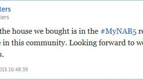 Join in the conversation with your neighbors using #MyNAB