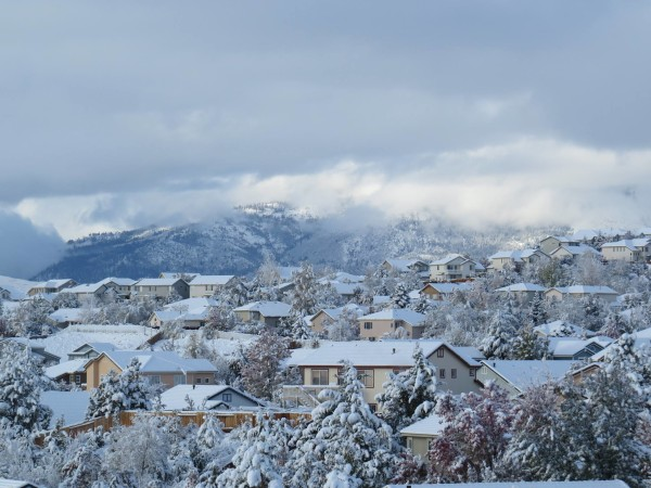 Northwest Reno after the November 10, 2015 snowstorm. Photo by Barbara Sorensen Mareno
