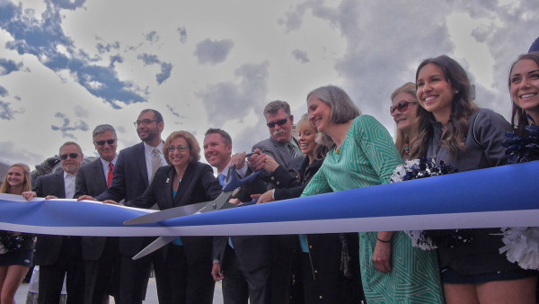 Virginia Street Bridge Ribbon Cutting