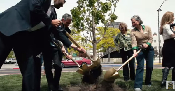 Reno City Councilmembers plant a tree