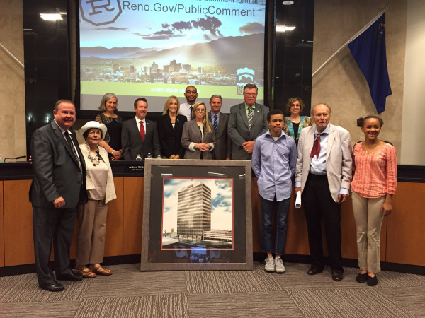 William Thornton Family and Reno City Council