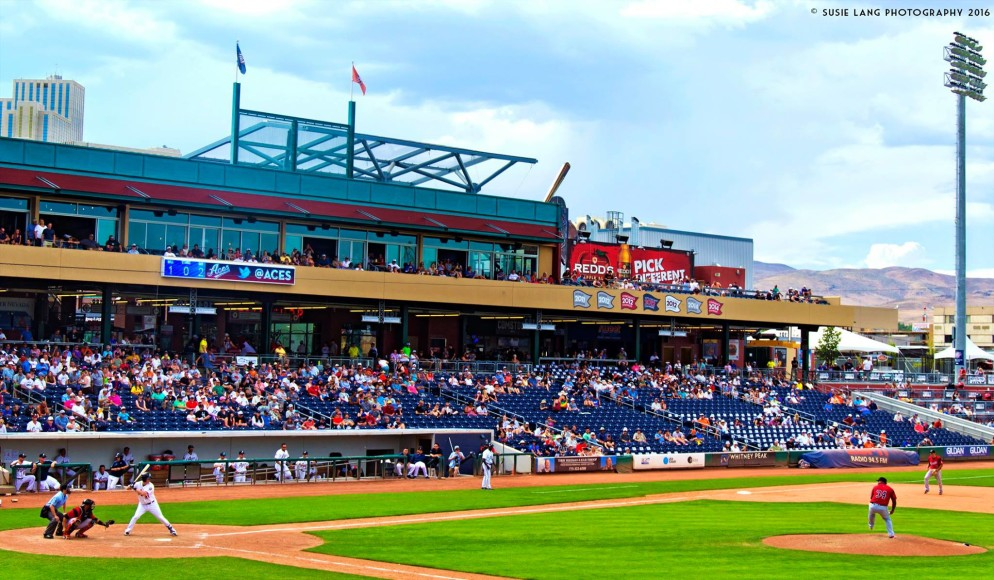 Reno Aces baseball game