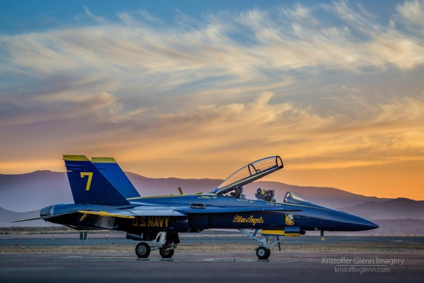 Blue Angels plane