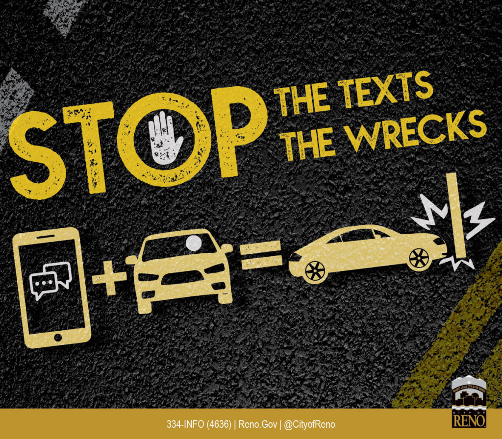 Stop the texts. Stop the wrecks.