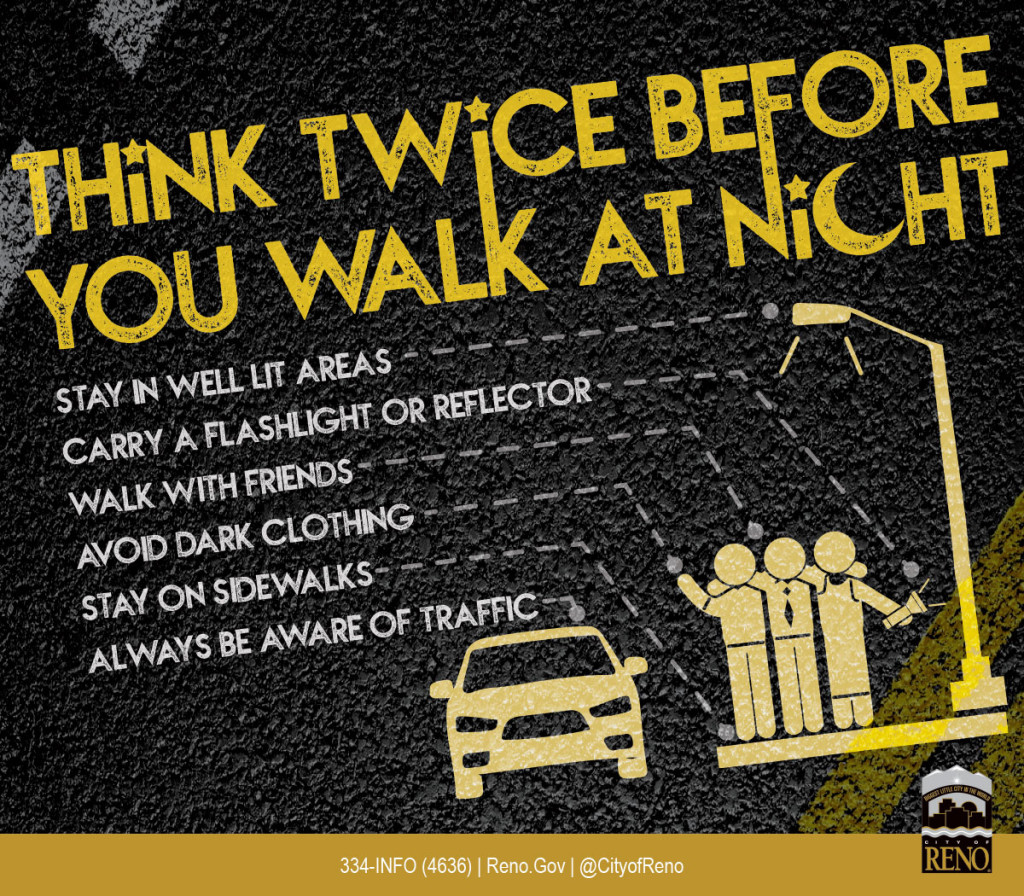 Think Twice Before You Walk at Night