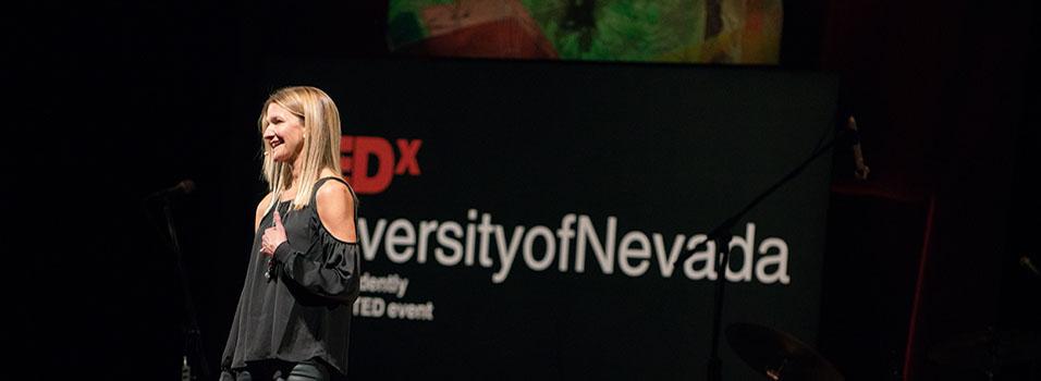 TEDx speaker Sherry McConkey speaks at UNR