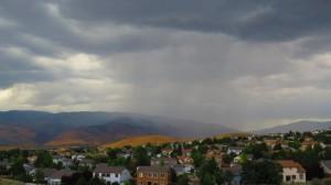 Summer storm in Northwest Reno