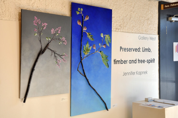 Artwork of tree branches - Preserved: Limb, timber and tree-spirit