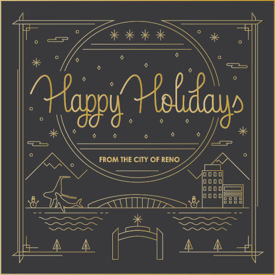 Happy holidays from the City of Reno