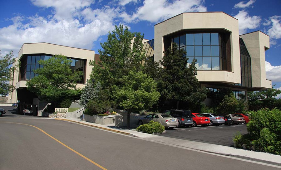 Street view of ReEnergize Reno participant Airport Gardens, a 75,000 square foot office building